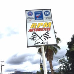 Photo Of Rpm Automotive Glendale Ca United States Sign