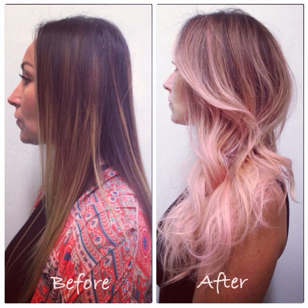 Black To Light Pink Ombre Please enable JavaScript to
