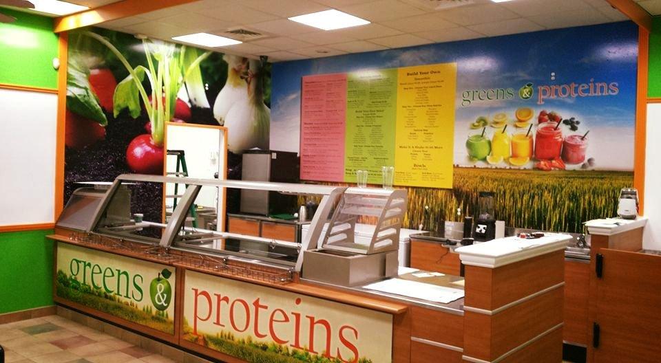 Fresh Greens & Proteins: 750 Straits Tpke, Watertown, CT