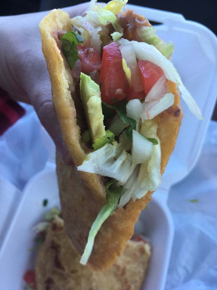 Food from El Mariachi Loco