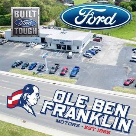 Ole ben franklin ford car dealers 1226 knoxville hwy for Ole ben franklin motors knoxville
