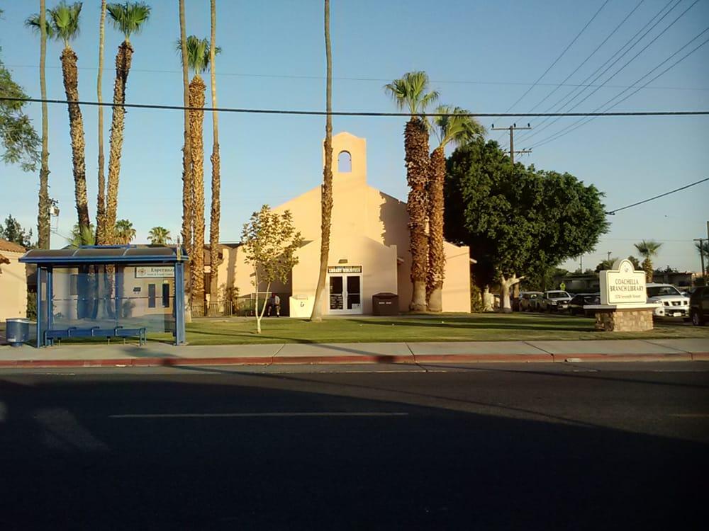 Coachella Branch Library: 1538 7th St, Coachella, CA