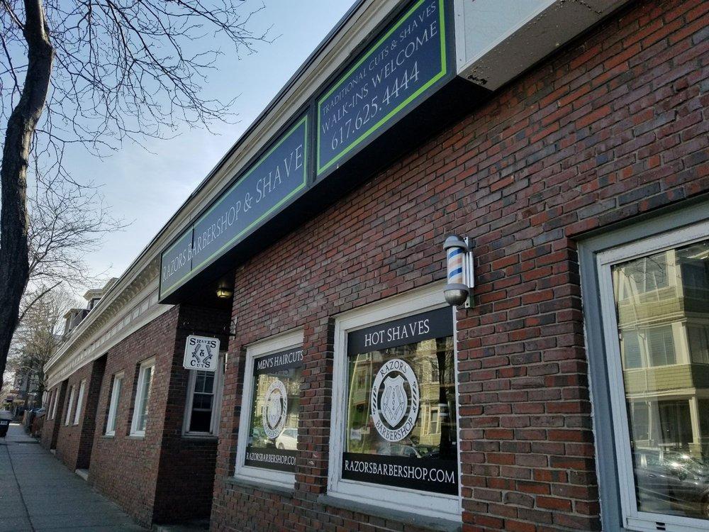 Razors Barbershop & Shave: 308 Highland Ave, Somerville, MA