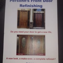 Photo of Persohn Front Door Refinishing - Houston TX United States & Persohn Front Door Refinishing - Refinishing Services - 3614 ...