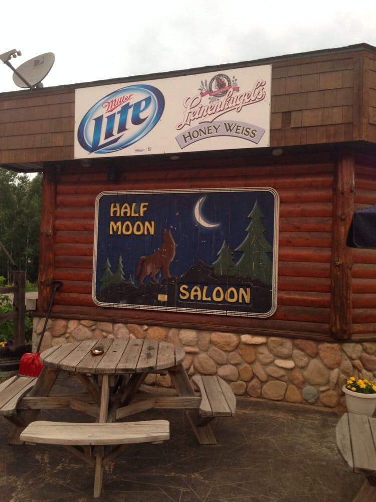 Half Moon Saloon: 22545 County Road 3, Merrifield, MN