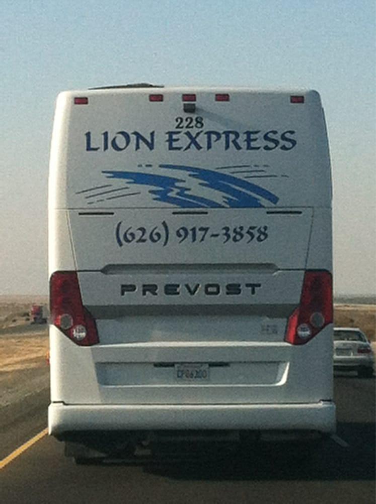 Lion Express: 1773 W San Bernardino Rd, West Covina, CA