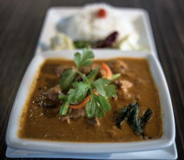 Food from The Hyderabad indian Grill