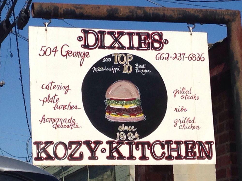 Dixies Kozy Kitchen: 504 George St, Carrollton, MS