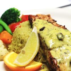 Photo Of Evanu0027s Kitchen U0026 Catering   Sacramento, CA, United States. Grilled  Salmon