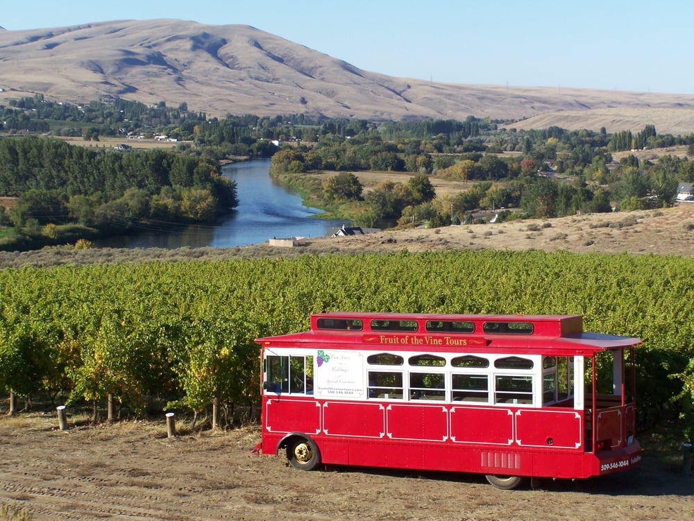 Fruit of the Vine Tours: Benton City, WA
