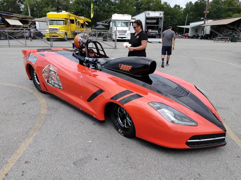 Fiberglass C7 Corvette Race Car painted by BCP - Yelp
