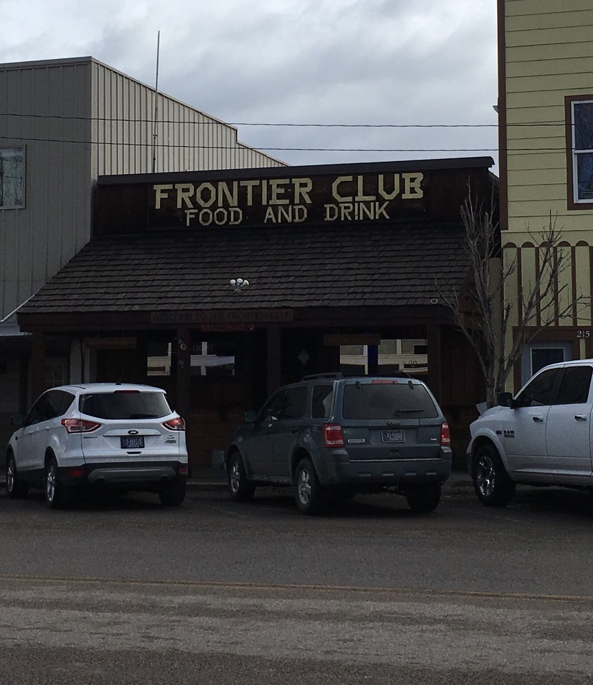 Frontier Club: 213 S Main St, Three Forks, MT
