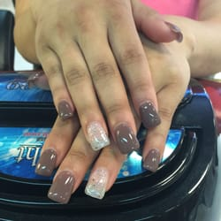Full color gel nails