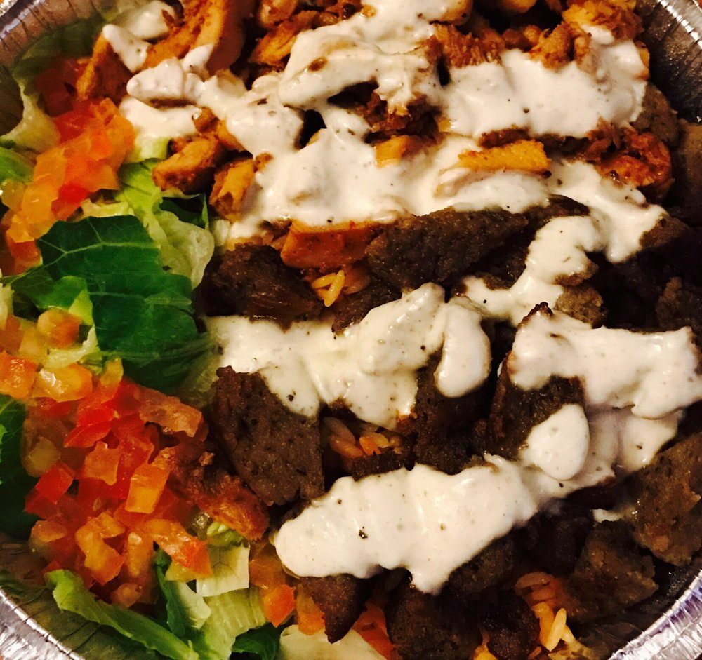 Food from Gyro Grill