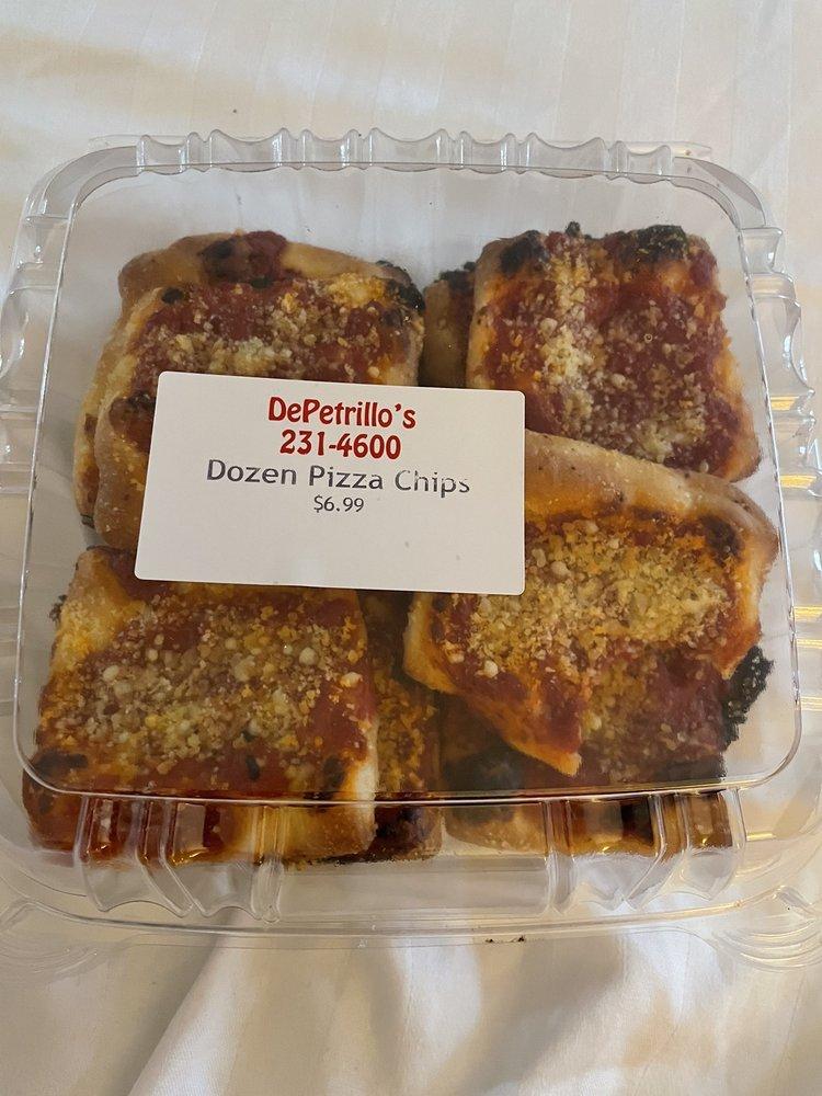 Food from Depetrillo's Pizza & Bakery