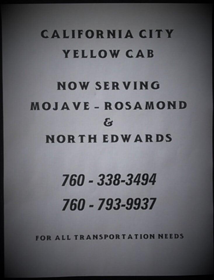 California City Yellow Cab: California City, CA