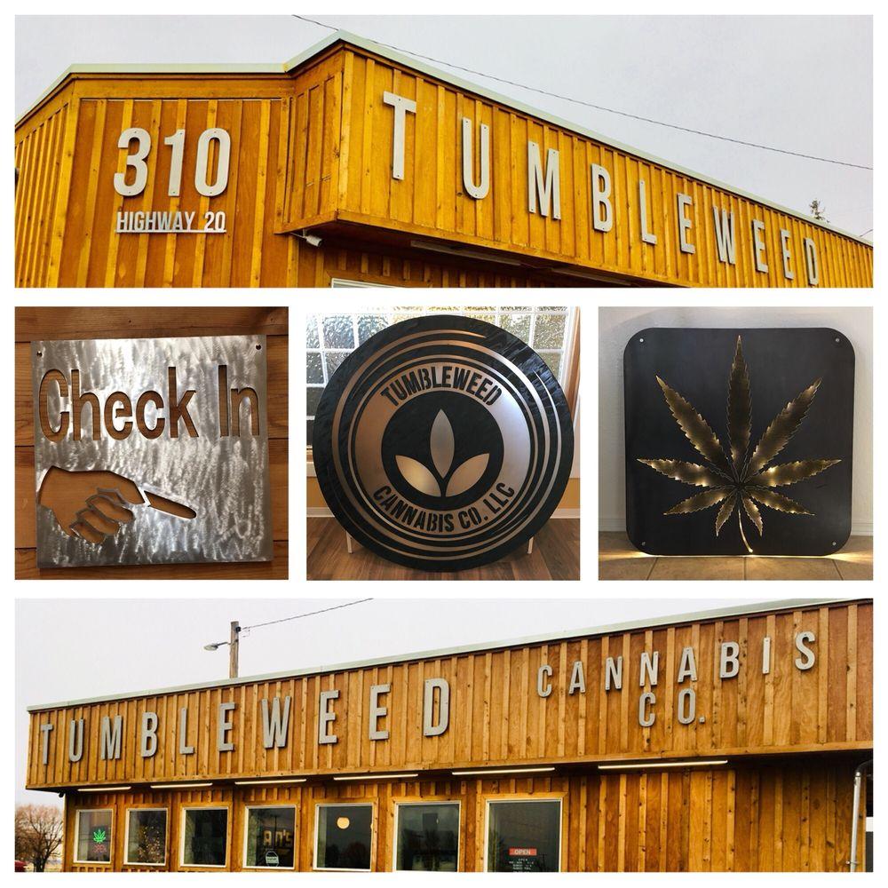 Tumbleweed Cannabis: 310 N US 20, Hines, OR