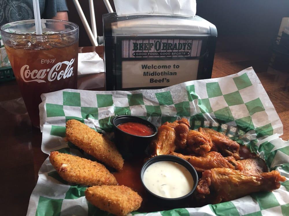 Beef 'O' Brady's: 1000 George Hopper Rd, Midlothian, TX
