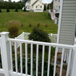 Central Fence Deck