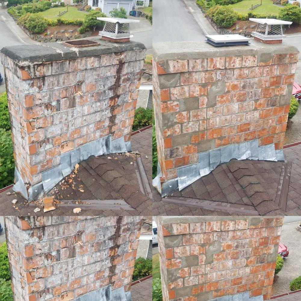 Ed's Chimney Service & Repair: 5030 243rd St SW, Mountlake Terrace, WA