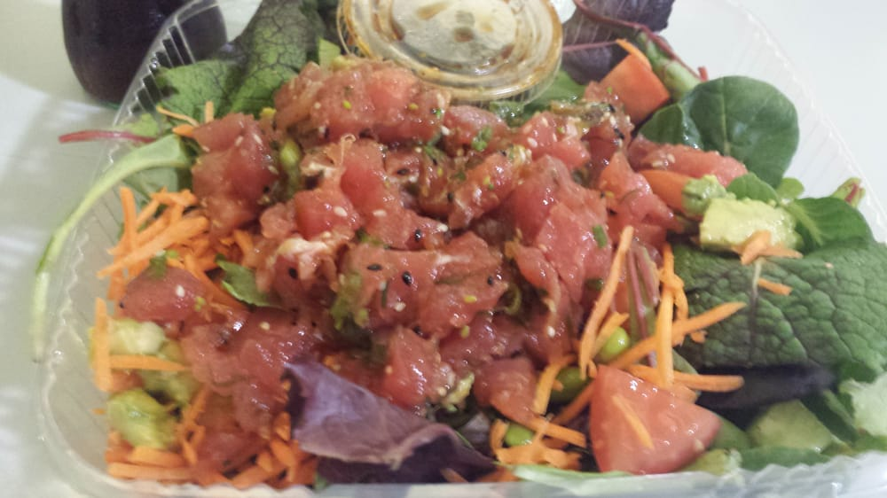 Ahi poke poke salad yelp for Seasalt fish grill