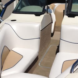 Photo Of Harms Upholstery   Medford, OR, United States. Full Boat Interior  Restoration