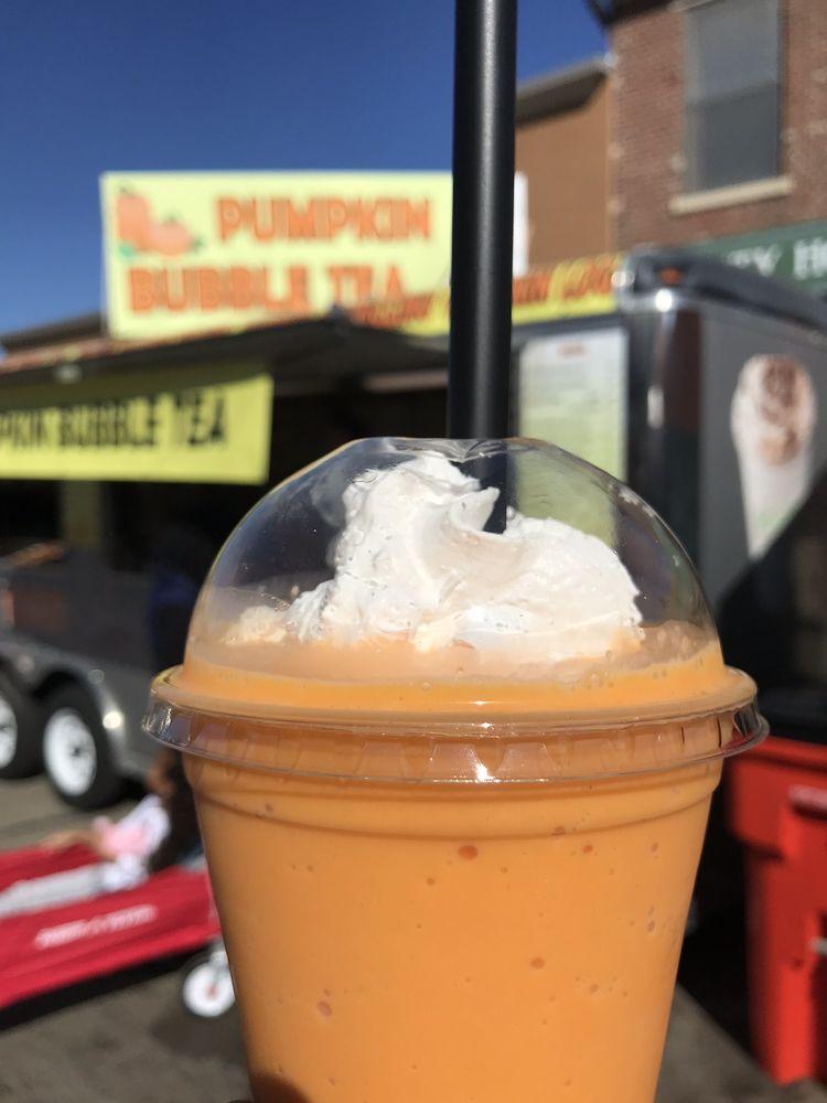 Pumpkin Bubble Tea: Circleville, OH