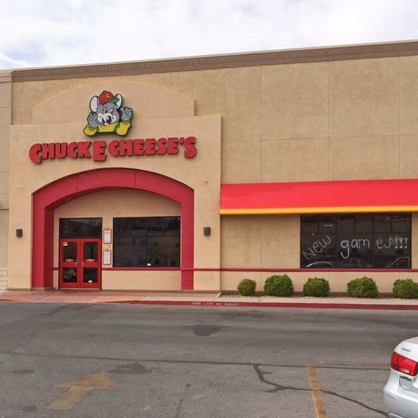Chuck E. Cheese: 700 S Telshor, Las Cruces, NM