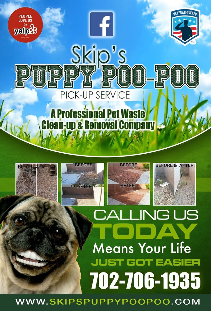 Skip's Puppy Poo-Poo Pick-Up Service