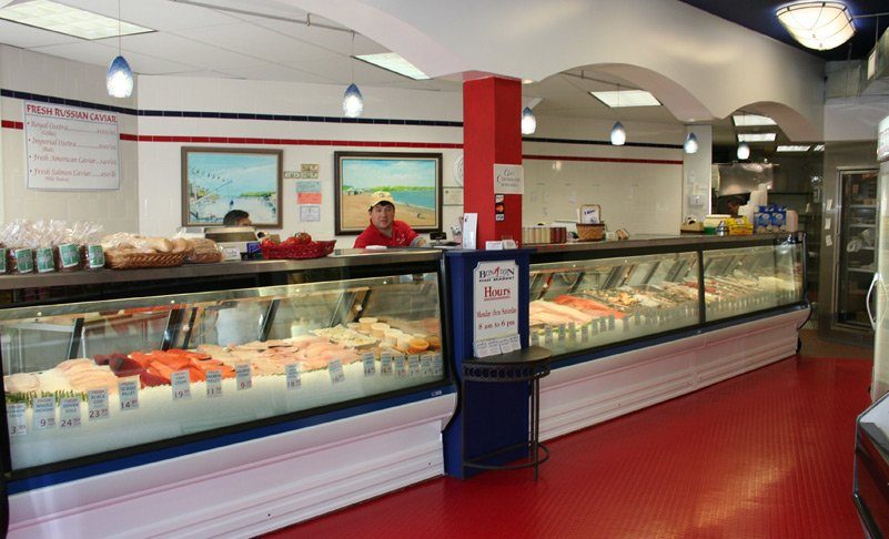 Bon ton fish market seafood markets 100 bruce park ave for Fish market ct