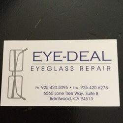 1c775e65d33 Eye-Deal Optical Repair - 14 Reviews - Eyewear   Opticians - 6560 ...