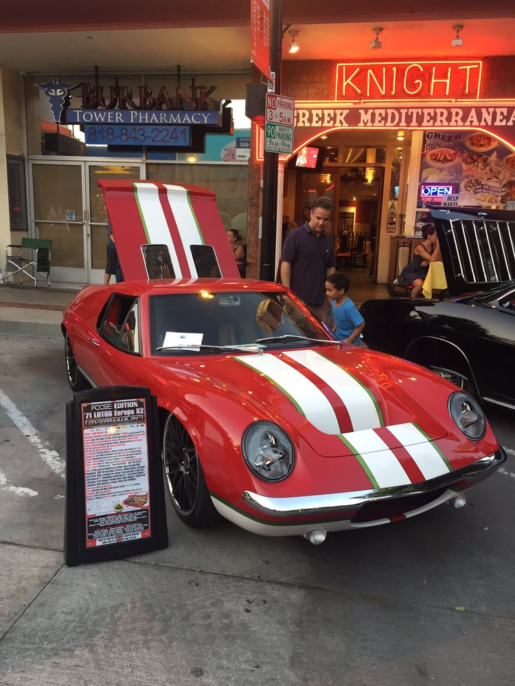 Downtown Burbank Car Classic
