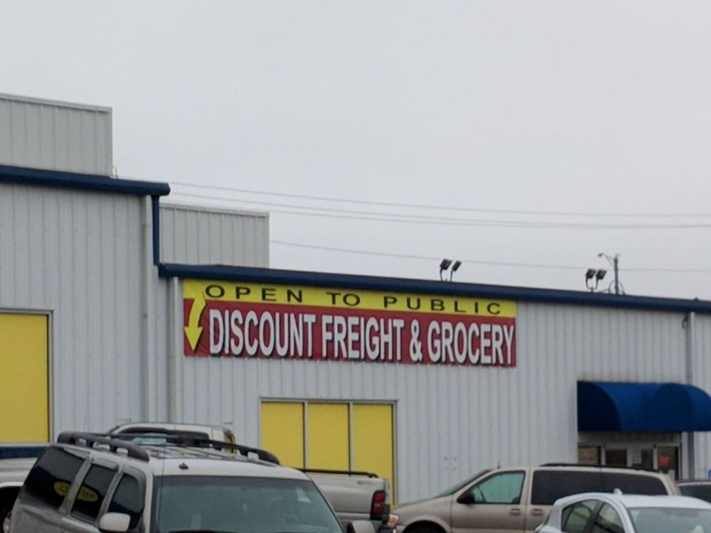Discount Freight & Grocery: 5101 North Towne Centre Dr, Ozark, MO