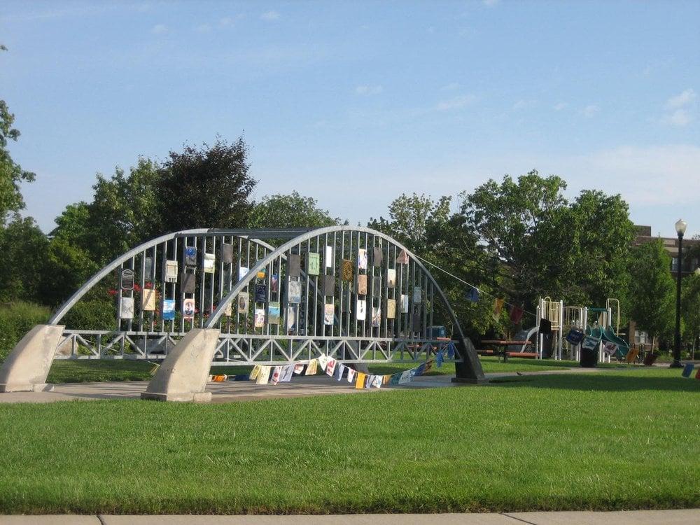 Peck Park: Brush St. & Frederick St., Detroit, MI