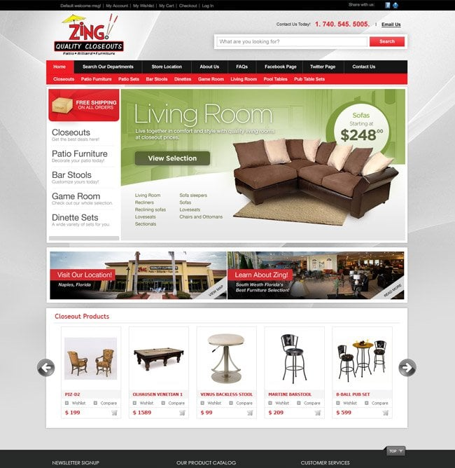 s for Zing Patio Furniture Yelp