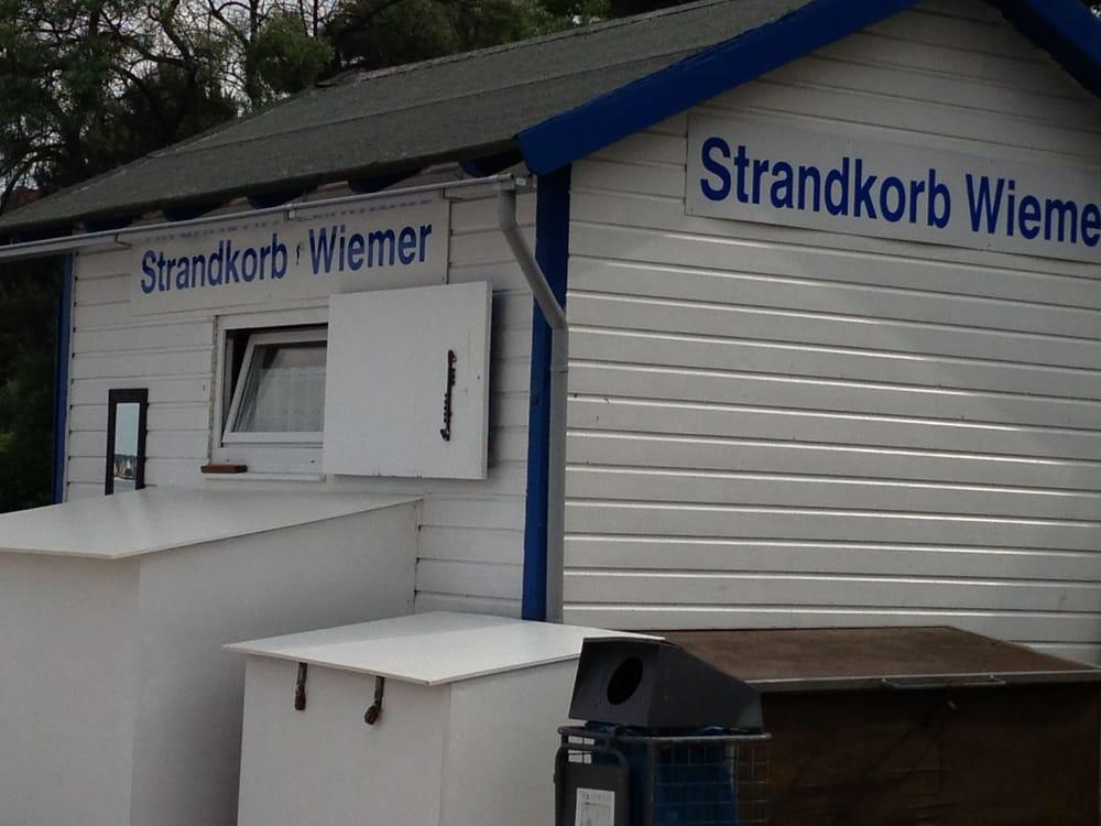 Strandkorbvermietung Wiemer/ Timmendorfer Strand