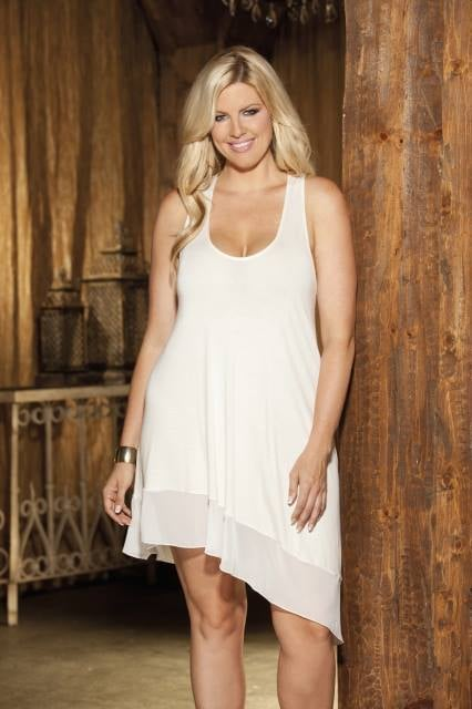 Wedding lingerie for plus size women. Full figure lingerie ...