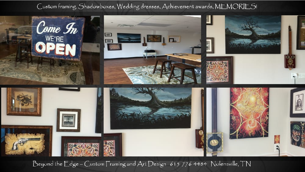 Beyond the Edge - Custom Framing and Art Design - CLOSED - Framing ...