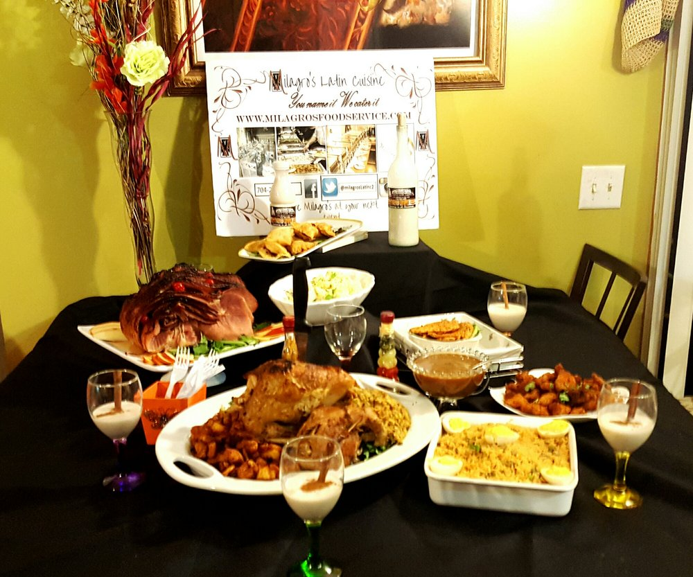Did I Tell Milagro Latin Cuisine Can Cook Your Holiday Meal Call