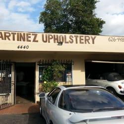 Martinez S Auto Upholstery Auto Parts Supplies 4440 Peck Rd