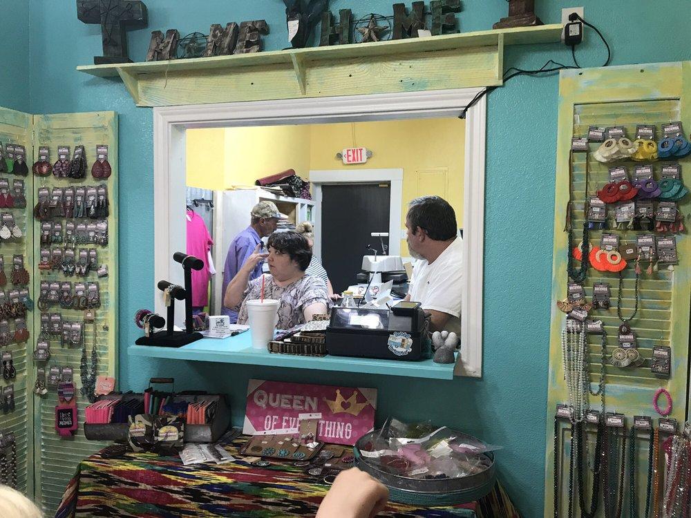 The Hacienda Boutique & Gift shop: 113 W Rock Island Ave, Boyd, TX