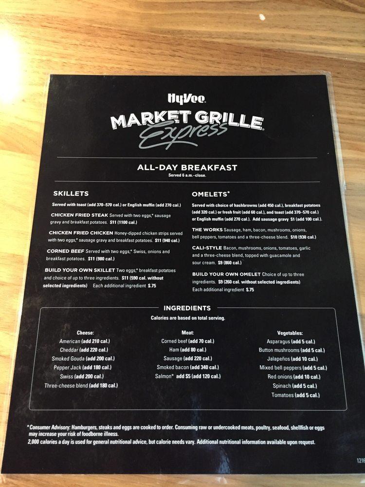 Hy-Vee Market Cafe: 923 N 1st St, Winterset, IA