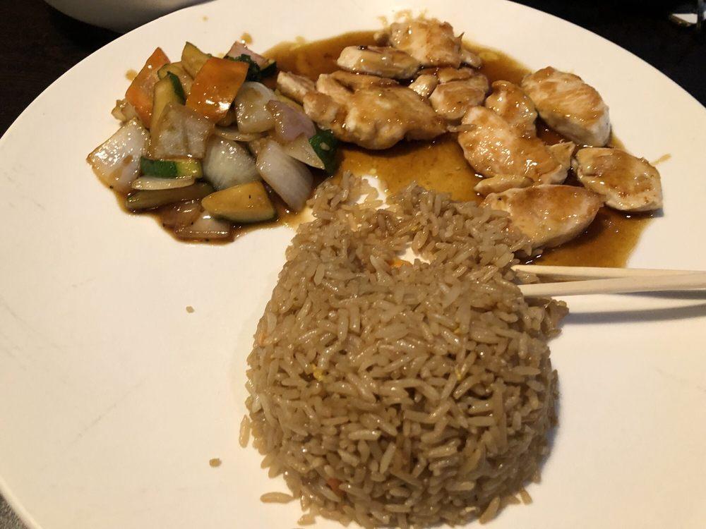 Food from Fuji Steak House