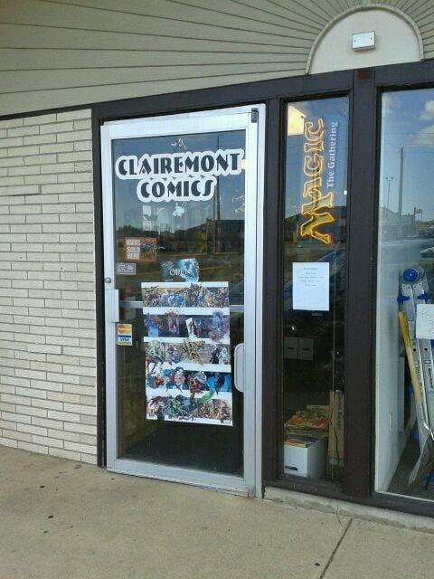 Clairemont Comics: 2207 Fairfax St, Eau Claire, WI