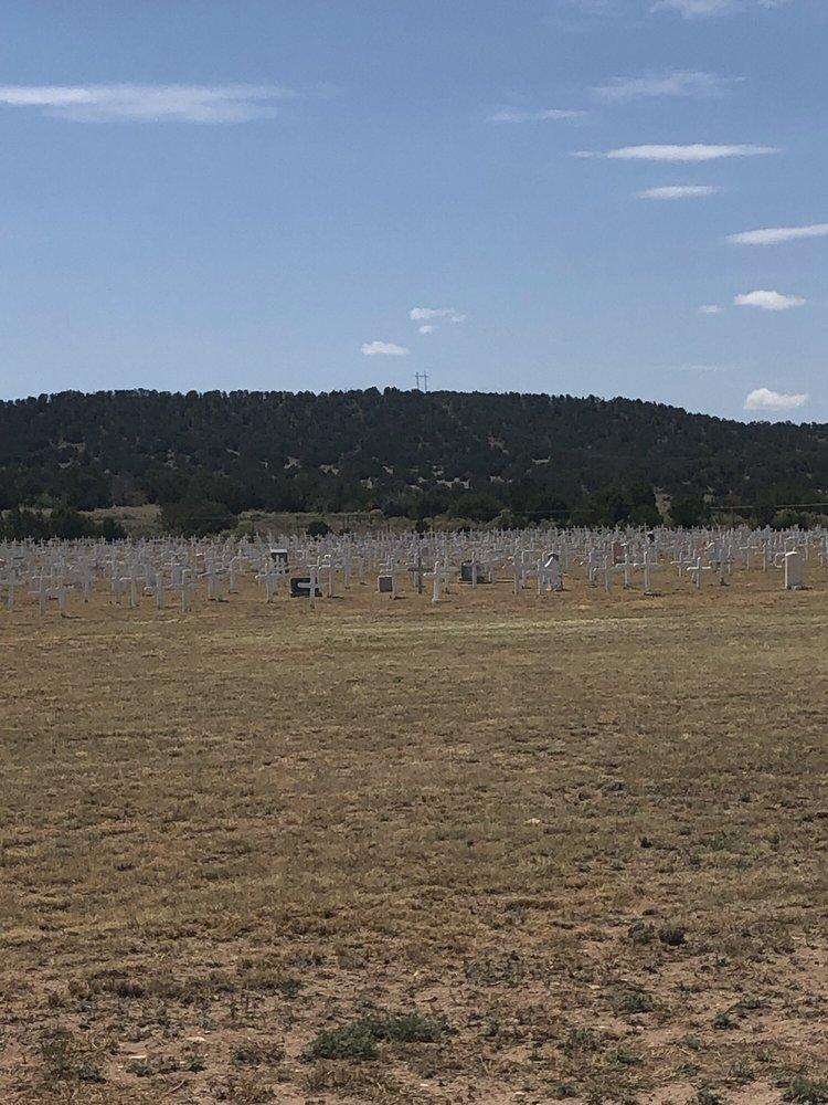 Fort Stanton Veterans Cemetery: 104 Kit Carson Road, Fort Stanton, NM