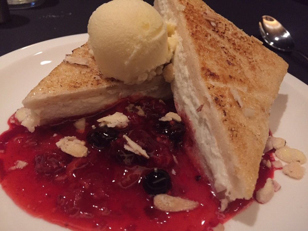 Their most popular grilled angelfood cake yelp for Monterey fish grotto
