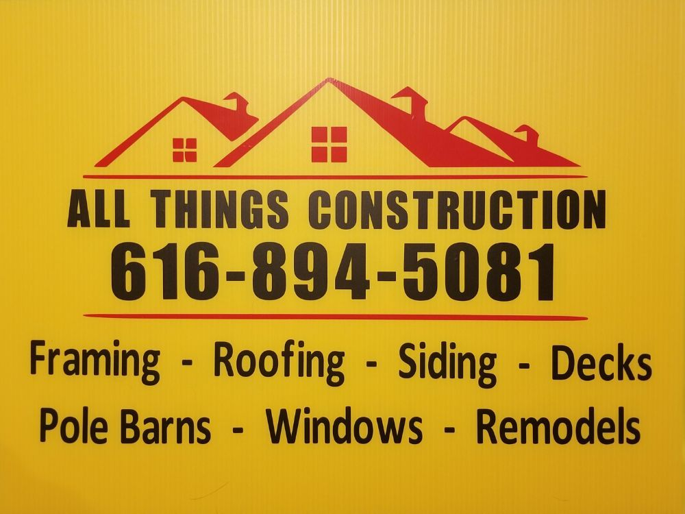 All Things Construction: 11029 Meadow Wood Cir, Greenville, MI