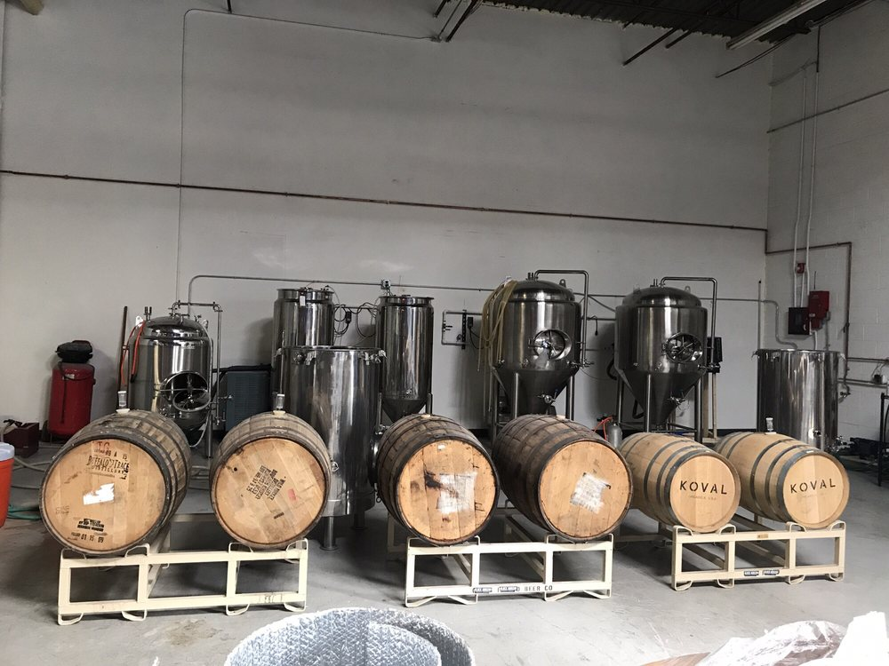 Black Horizon Brewing Company: 7560 S Quincy St, Willowbrook, IL