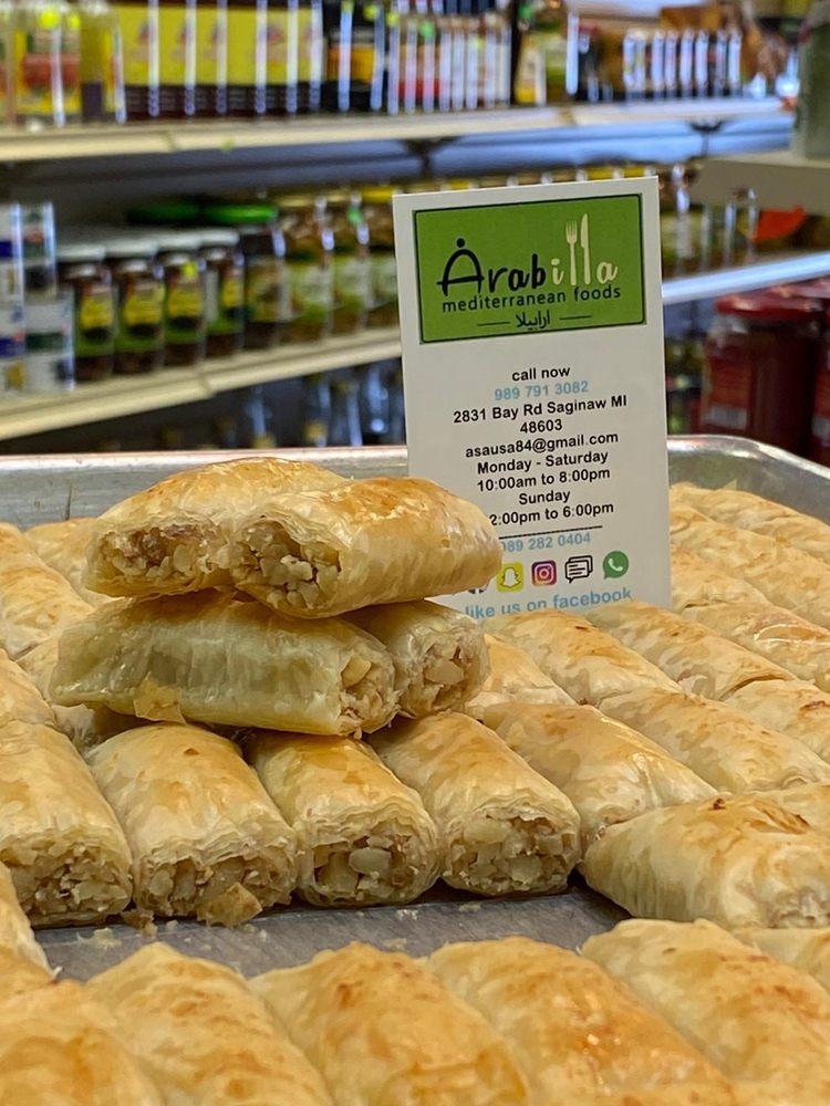 Arabilla Mediterranean Foods: 2831 Bay Rd, Saginaw, MI