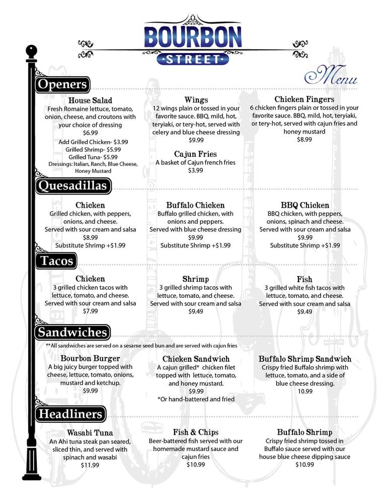 Food menu yelp for M kitchen harbison sc menu